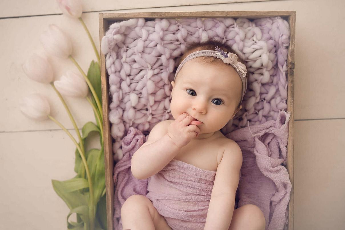 Foto de Bebé Niña - Segundo Trimestre