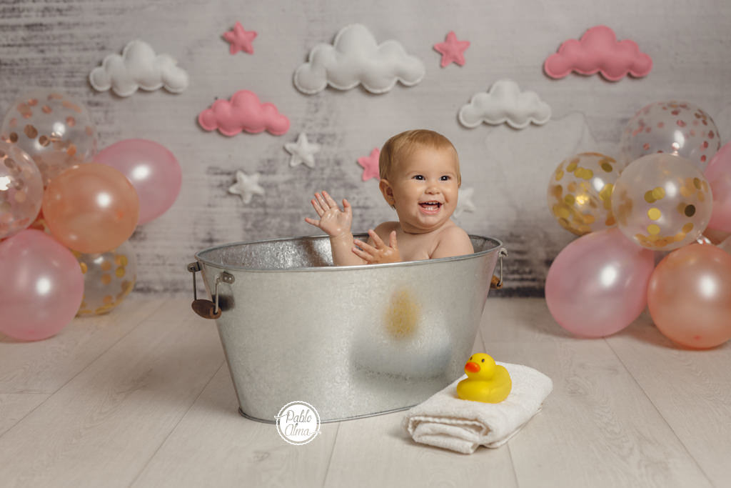 Fotos en bareeño de bebés