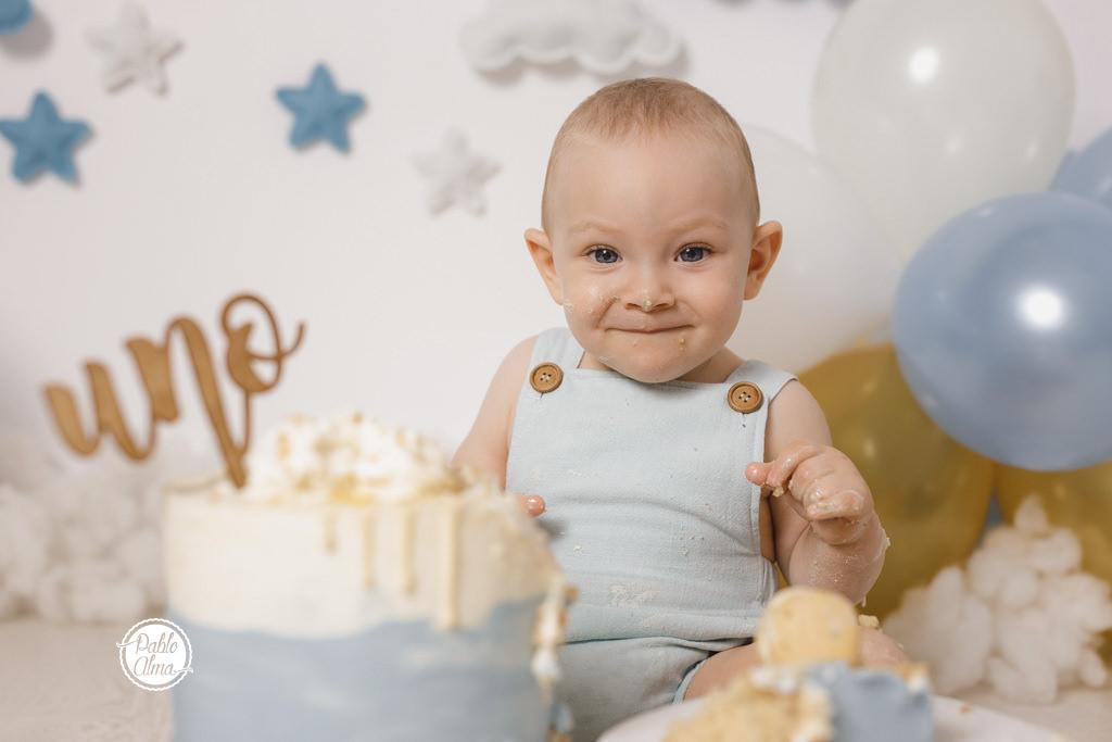 Globos, Nubes y Estrellas - Fotos de cumpleaños