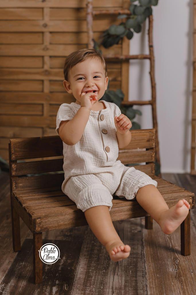 Sesión de Fotos para Bebé en Tomares - Niño