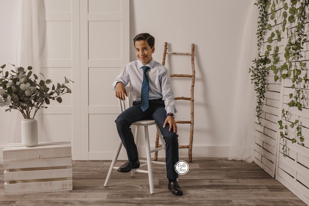 Fotografía de Comunión de Niño