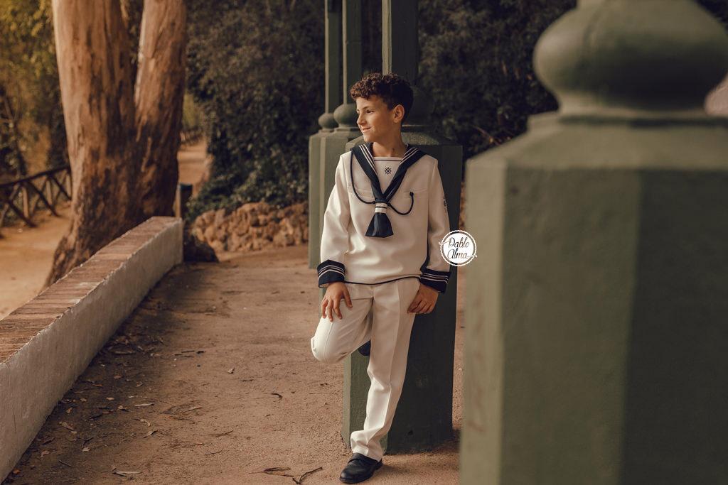 Foto de Comunión en Exterior - Niño
