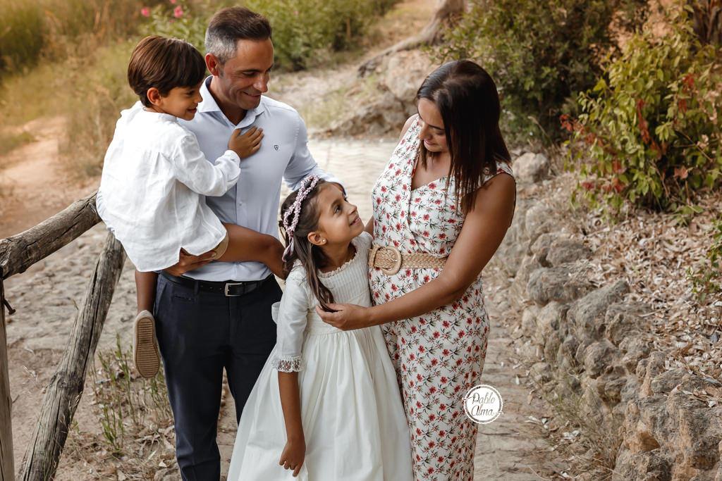 Foto Familiar de Comunión