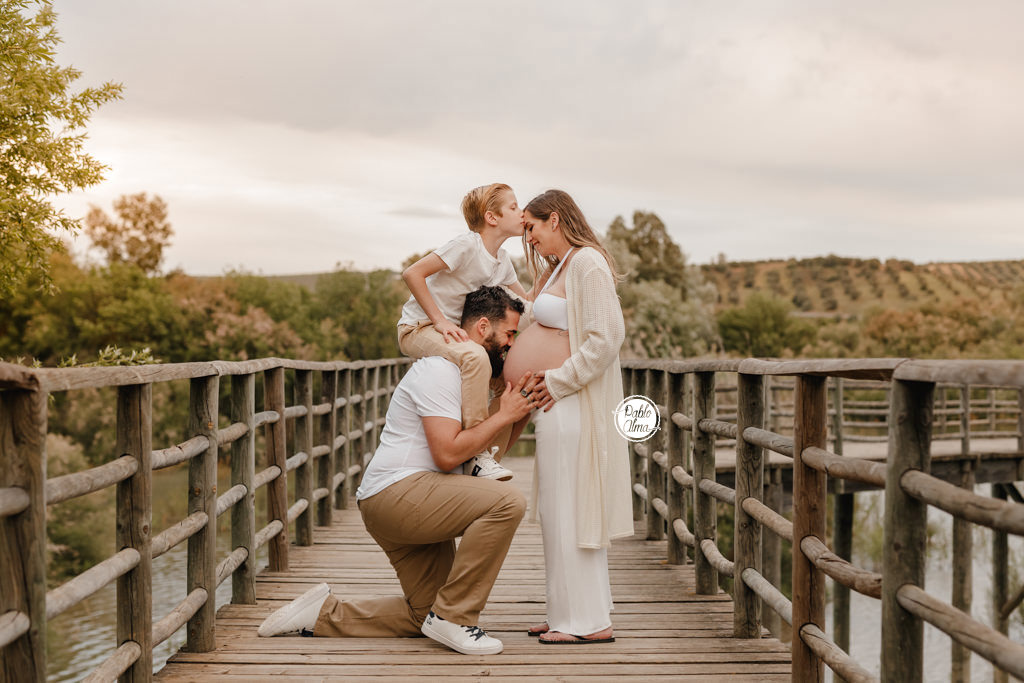 Fotos de Embarazo en Familia Sevilla
