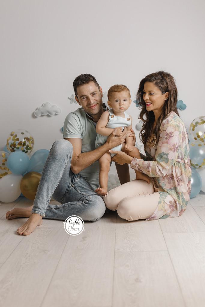 Foto de Familia en Estudio Fotográfico Profesional - Tomares