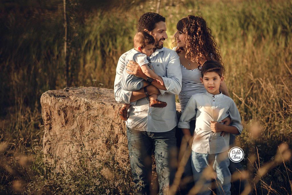 Foto de Familia en el Parque del Zaudín de Tomares - Sevilla