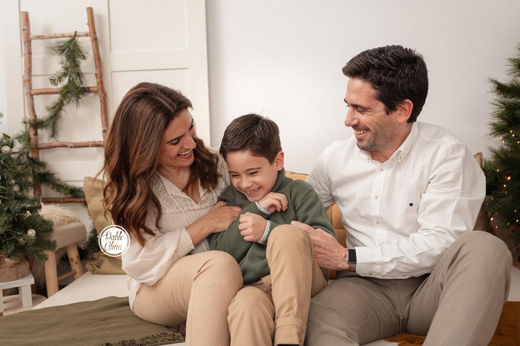Foto de Familia en Puente de Madera