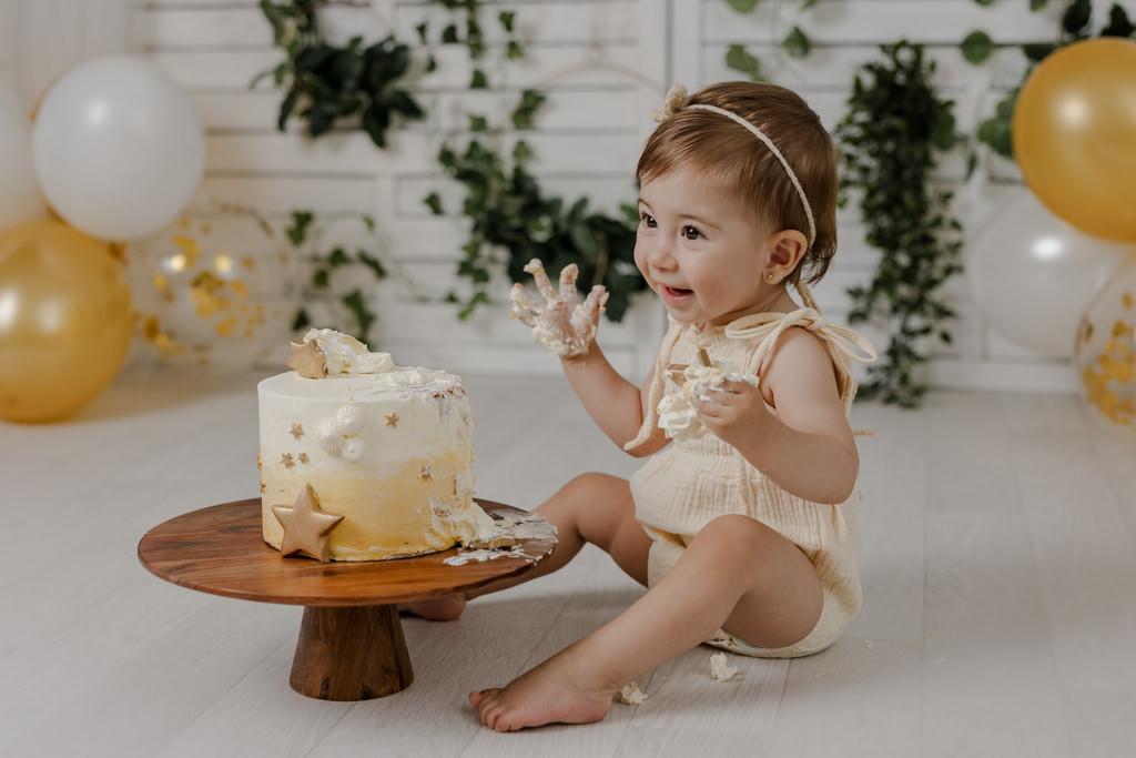 Foto de Cumpleaños Smash Cake - Tarta de Animalitos