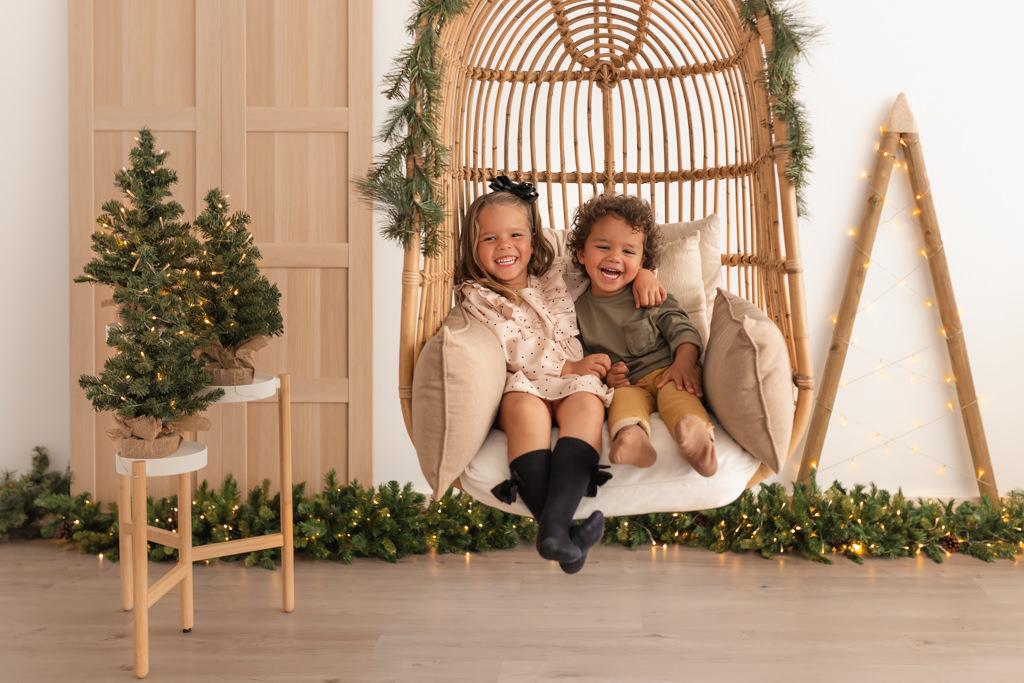 Fotos de Navidad Hermanos